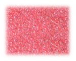 11/0 Bright Pink Inside-Color Glass Seed Beads - 1 oz. bag