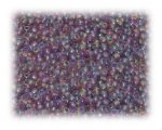 11/0 Mauve Rainbow Luster Glass Seed Beads - 1 oz. Bag