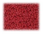 11/0 Fire Red Opaque Glass Seed Beads, 1 oz. bag