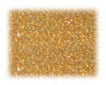 11/0 Apricot Inside-Color Glass Seed Beads - 1 oz. bag