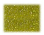 11/0 Yellow Rainbow Luster Glass Seed Beads - 1 oz. Bag