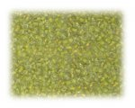 11/0 Lemon Inside-Color Glass Seed Beads - 1 oz. bag