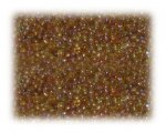 11/0 Gold Rainbow Luster Glass Seed Beads - 1 oz. Bag