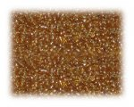 11/0 Gold Silver-Lined Glass Seed Beads - 1 oz. Bag