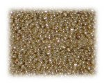11/0 Rich Gold Metallic Glass Seed Beads, 1 oz. Bag