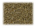 11/0 Gold Metallic Glass Seed Beads, 1 oz. Bag