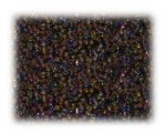 11/0 Brown Rainbow Luster Glass Seed Beads - 1 oz. Bag