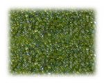 11/0 Apple Green Silver-Lined Glass Seed Beads - 1 oz. Bag