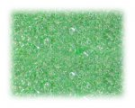 11/0 Pale Green Transparent Glass Seed Beads - 1 oz. bag