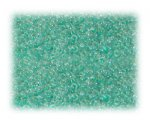 11/0 Light Green Transparent Glass Seed Beads - 1 oz. bag