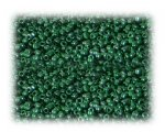 11/0 Grass Green Metallic Glass Seed Beads, 1 oz. Bag