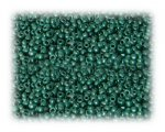 11/0 Green Metallic Glass Seed Beads, 1 oz. Bag