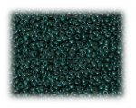11/0 Dark Green Metallic Glass Seed Beads, 1 oz. Bag