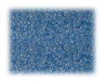11/0 Pastel Blue Ceylon Glass Seed Beads - 1 oz. Bag