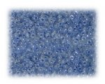 11/0 Sky Blue Rainbow Luster Glass Seed Beads - 1 oz. Bag