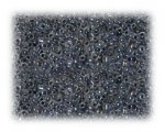 11/0 Dark Silver Transparent Glass Seed Beads - 1 oz. bag
