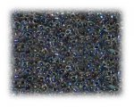 11/0 Blue Rainbow Luster Glass Seed Beads - 1 oz. Bag