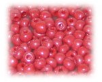 6/0 Red Opaque Luster Glass Seed Beads, 1 oz. Bag