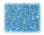 6/0 Turquoise Opaque Luster Glass Seed Beads, 1 oz. Bag
