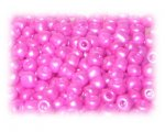 6/0 Fuchsia Metallic Matte Glass Seed Beads, 1 oz. Bag