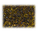 6/0 Olive 2 x Inside-Color Glass Seed Beads, 1 oz. bag