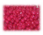 6/0 Red Opaque Glass Seed Beads, 1 oz. bag