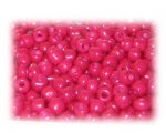 6/0 Cerise Opaque Glass Seed Beads, 1 oz. bag