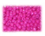 6/0 Fuchsia Opaque Glass Seed Beads, 1 oz. bag