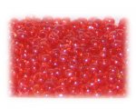 6/0 Strawberry Red Transparent Glass Seed Beads, 1 oz. bag