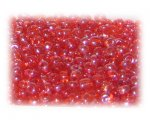 6/0 Orange Luster Glass Seed Beads, 1 oz. Bag