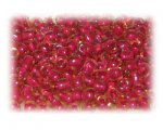 6/0 Red Inside-Color Glass Seed Beads, 1 oz. Bag