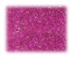 6/0 Dark Fuchsia Inside-Color Glass Seed Beads, 1 oz. bag