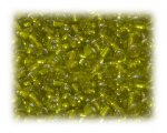 6/0 Sun Yellow Inside-Color Glass Seed Beads, 1 oz. bag