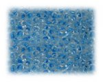 6/0 Turquoise Inside-Color Glass Seed Beads, 1 oz. bag