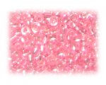 6/0 Hot Pink Inside-Color Glass Seed Beads, 1 oz. bag