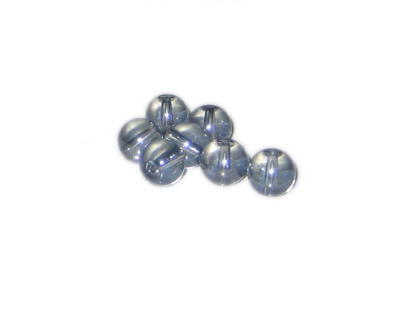10mm Twilight Gray Galaxy Luster Glass Bead, approx. 20 beads - Click Image to Close