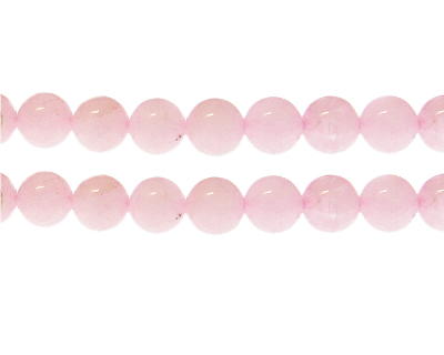 10mm Rose Quartz Gemstone Bead, approx. 19 beads