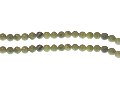 6mm Amazonite Gemstone Bead, approx. 34 beads