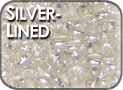 Silver-Lined Seed Beads